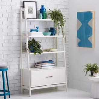 "west elm Mid-Century 38"" Bookshelf - White"