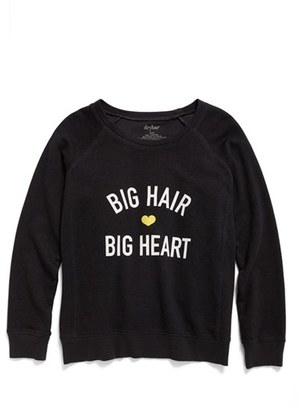 Women's Drybar Capsule Big Hair, Big Heart Sweatshirt $53 thestylecure.com