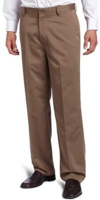 Dockers Never Iron Essential Khaki D3 Classic-Fit Flat-Front Pant