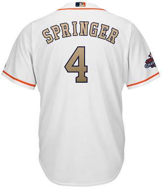 5035963cb ... Majestic Men s George Springer Houston Astros Gold Replica Cool Base  Jersey