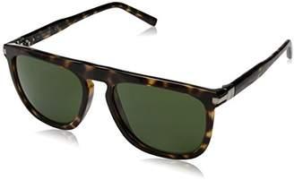 Calvin Klein Men's Ck3197s Square Flat Top Sunglasses