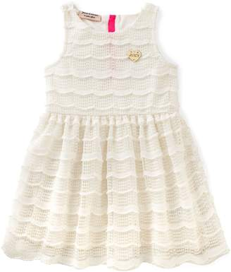 Juicy Couture Big Girls' Patterned and Solid Scuba Dress