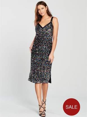 Karen Millen Disco Sequin Dress - Multi