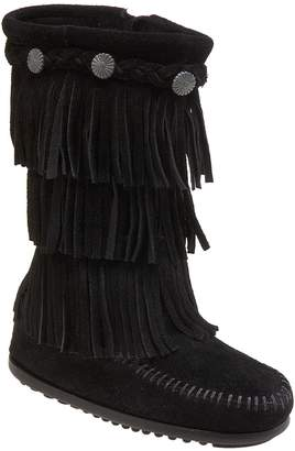 Minnetonka Three-Layer Fringe Boot
