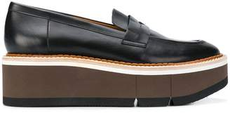 Clergerie chunky mid-heel loafers
