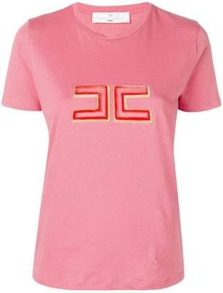 Elisabetta Franchi logo print T-shirt