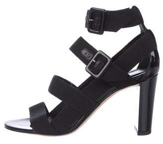 Jimmy Choo Maya Woven Sandals