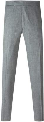 Fashion Clinic Timeless grid print trousers
