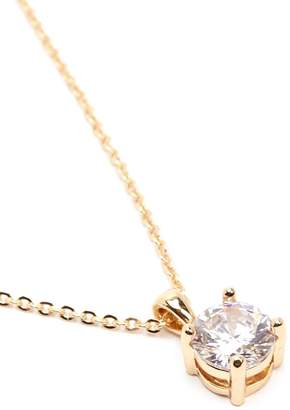 Forever 21 Rhinestone Solitaire Necklace