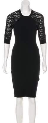 Kenzo Short Sleeve Knee-Length Dress