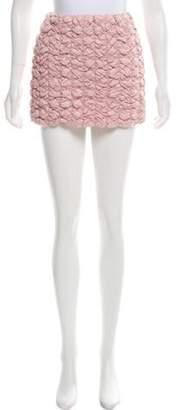 Moncler Mini Down Skirt pink Mini Down Skirt