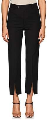 Helmut Lang Women's Slit-Hem Pants - Black