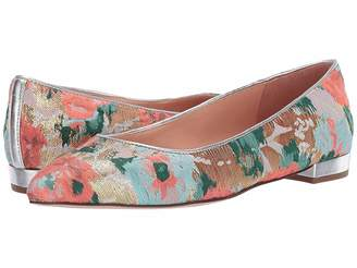 J.Crew Pointy Toe Flat in Brocade