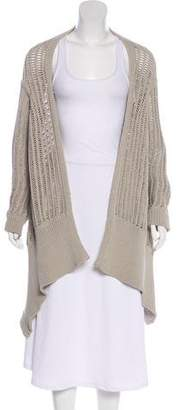 Rick Owens Draped Open-Front Cardigan w/ Tags