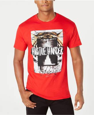 Sean John Men Hustle Harder Graphic T-Shirt