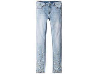 7 For All Mankind Kids Skinny Stretch Denim Jeans in Tribeca (Big Kids)
