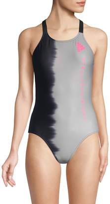 adidas by Stella McCartney Colorblock One-Piece Swimsuit