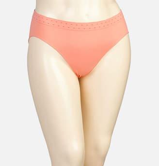 Avenue Coral Dot Seamless Hi Cut Panty