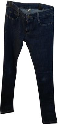Acquaverde Blue Cotton - elasthane Jeans for Women