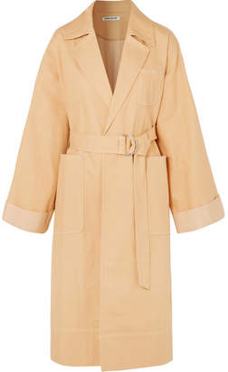 Elizabeth and James Fletcher Oversized Denim Coat - Camel