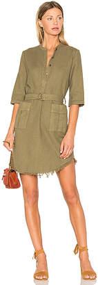Raquel Allegra Henley Cargo Dress
