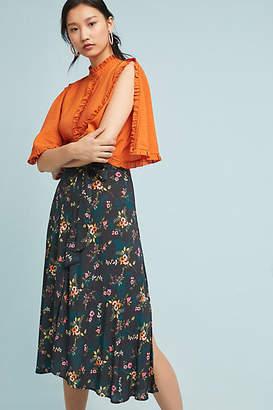Velvet by Graham & Spencer Butterfly Wrapped Skirt