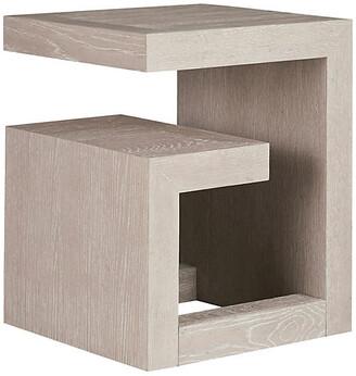 One Kings Lane Modern Side Table - Ivory