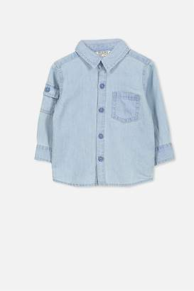 Cotton On Zac Long Sleeve Shirt