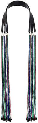 Giorgio Armani beaded tassel necklace