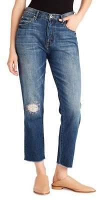 Ella Moss Vintage High-Waist Skinny-Leg Jeans