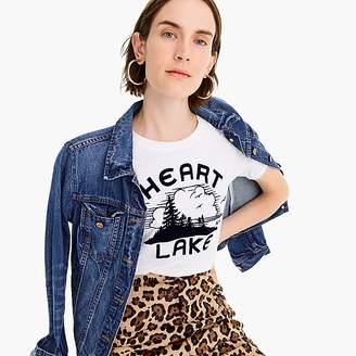 "J.Crew ""Heart Lake"" T-shirt"