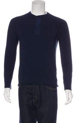 Rag & Bone Knit Henley T-Shirt