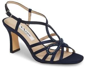Nina Amabel Crystal Embellished Sandal