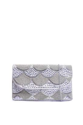 At Next Womens Glamorous Embellished Evening Clutch Bag