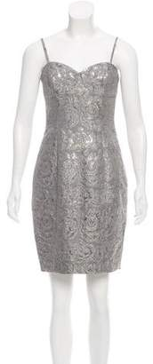 Tracy Reese Brocade Mini Dress