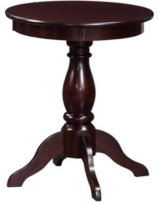 "Ore International 23.3"" Alice Pedestal Accent Table"