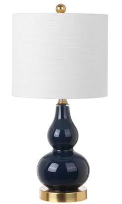 Jonathan Y Anya 20.5In Mini Glass Led Table Lamp