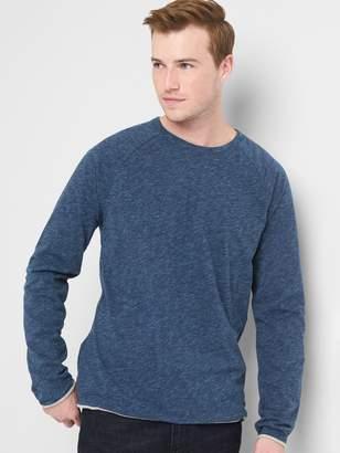 Gap Double-Layer Long Sleeve Crewneck T-Shirt