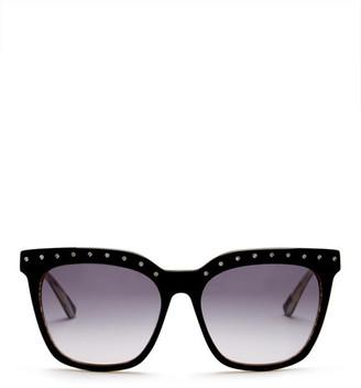 L.A.M.B. Women's Full Rim Square Shape Sunglasses $169 thestylecure.com