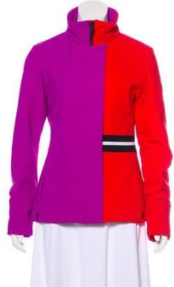 Fendi Neoprene Colorblock Jacket w/ Tags