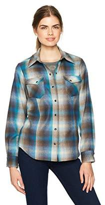 Pendleton Women's Ranch Hand Wool Plaid Shirt