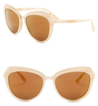 Dolce & Gabbana Cat Eye 57mm Sunglasses