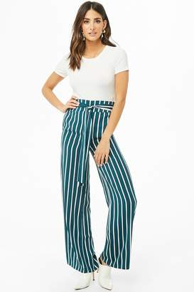 Forever 21 Stripe Palazzo Pants