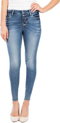 KUT from the Kloth Donna Button Fly Skinny Jeans