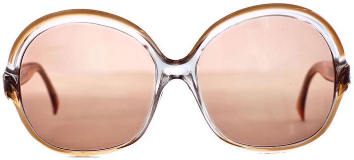 Vintage Lanvin Round Frame Sunglasses