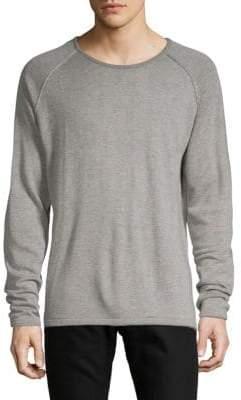 Standard Issue NYC Two-Tone Raglan Sleeve Sweater