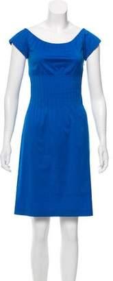Theory Cap Sleeve Mini Dress
