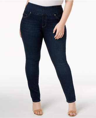Lee Plus Size Pull-On Skinny Jeans
