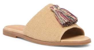 BC Footwear Pop Up Burlap Vegan Sandal