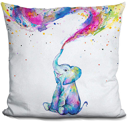 Marc Allante Spring Throw Pillow